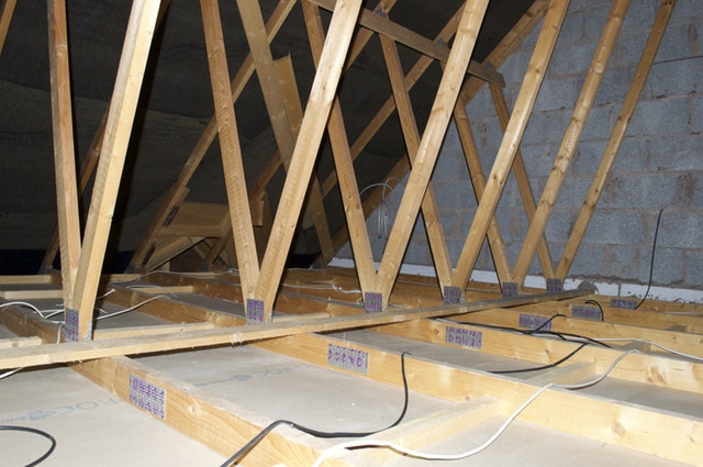 Attic insulation required in this attic