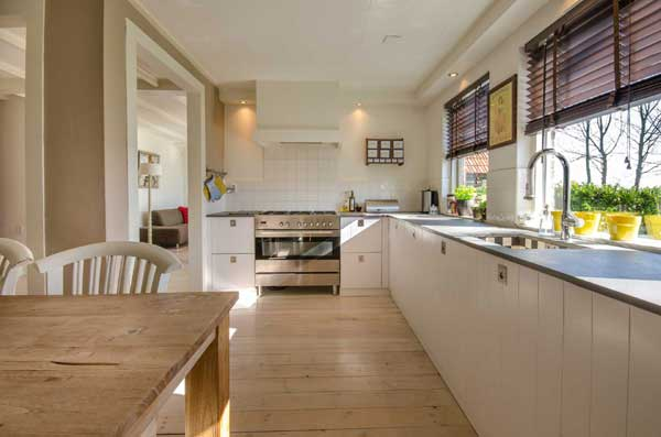 Beautiful kitchen after a renovation by Corrib view construction Builders